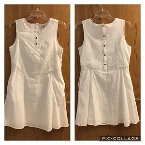 Simply Noelle White Eyelet, Embroidered Dress